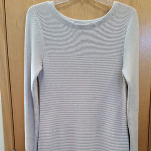 Long Sleeve Cotton BlendTunic Sweater Size S